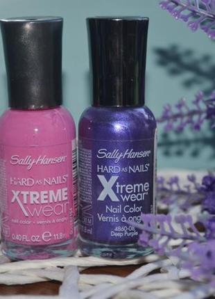 Профессиональный фирменный лак для ногтей xtreme wear от sally hansen америка оригинал