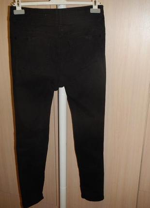 Узкие джинсы next skinny p.10 с высокой талией2 фото