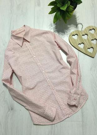 Стильная брендовая рубашка, модный принт, l-xl