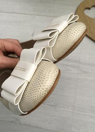 Туфли балетки, натуральная кожа clarks, 39-39,53 фото