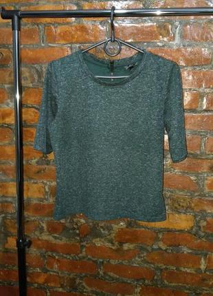 Пуловер кофточка топ из меланжевого трикотажа topshop