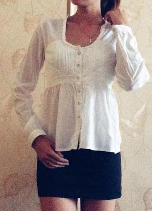 Белая рубашка,блузка zara