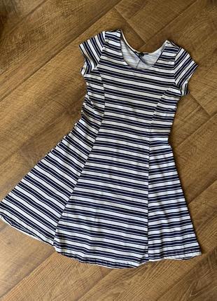 Красивое летнее платье в полоску atmosphere