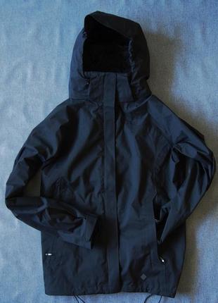 Высокотехнологичная куртка мембрана columbia для любителей total black унисекс
