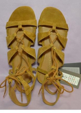 Vero moda дания оригинал! натуральная кожа! стильные босоножки сандалии 1000пар тут!