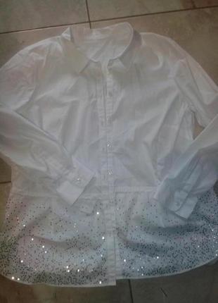 Класичная нарядная блуза