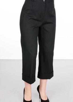 Укорочeні класичні штани, бриджі, подовжeні шорти в полоску, італія🇮🇹/ обмін чи продаж