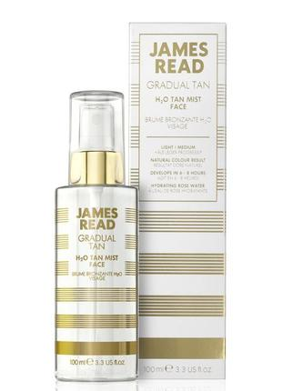 Спрей-автозагар james read h2o tan mist for face 30ml, 100ml
