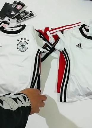 Детская футбольная форма, шорты, футболки adidas. 100% оригинал.