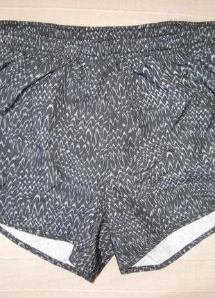 Nike dry-fit running (s) спортивные беговые шорты женские