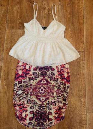 Лот. летняя юбка с топом
