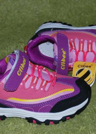 Кроссовки на девочку бренда clibee( румыния)