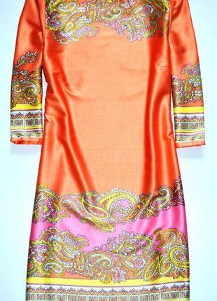 H&m. красивое платье  с принтом . с-ка. 6. 36