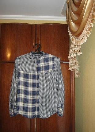Рубашка marks&spencer, 100% вискоза, размер 12/40