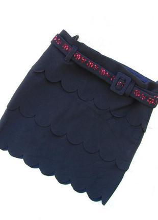 Стильная юбка с поясом leon babes