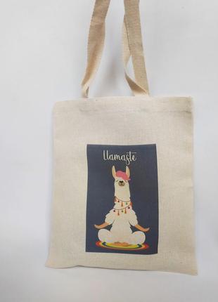 Эко-сумка лама, шоппер, экосумка llamaste, экосумка альпака киев, авоська киев, торба лама