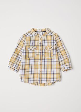 Стильная рубашка 6-9 мес (74 см)