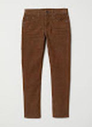 Микровельветовые джинсы/брюки скини 😍 10-11 лет (146 см)
