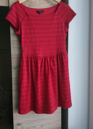 Стильное красное платье new look l 1+1=3