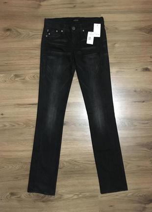 Идеальные чёрные джинсы,штаны с низкой посадкой!!