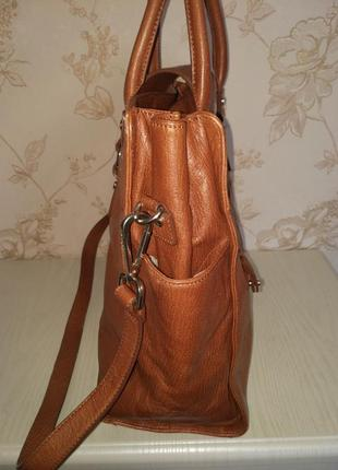 Брендовая номерная сумка оригинал кожа calvin klein3 фото