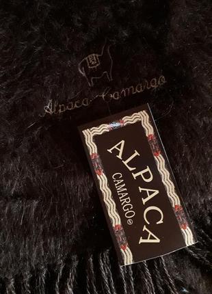Оригинальный теплый шерстяной шарф 💯% альпака alpaca camargo