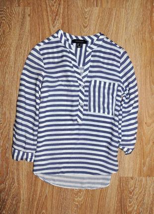 Стильная легкая блуза в полоску atmosphere