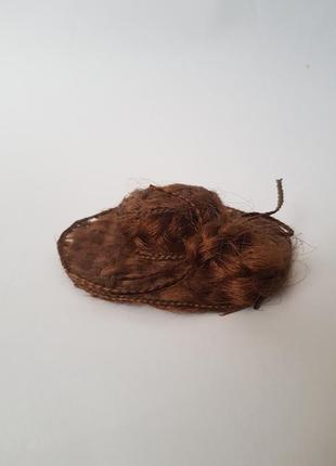 Шикарная заколка для волос,украшения для волос шляпка,заколка шляпа,постиж,ручная работа