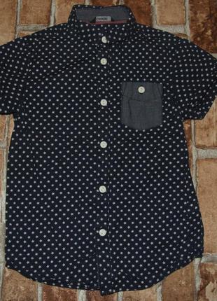 Рубашки котон лето 5-7лет джорж