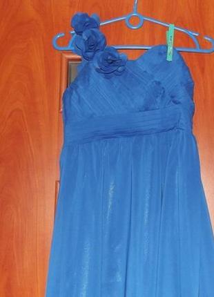 Платье-макси вечернее шифоновое от iefiel