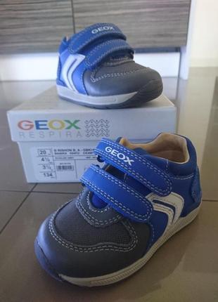 Идеальные первые детские ботинки, сникерсы, кеды geox, 20 р.