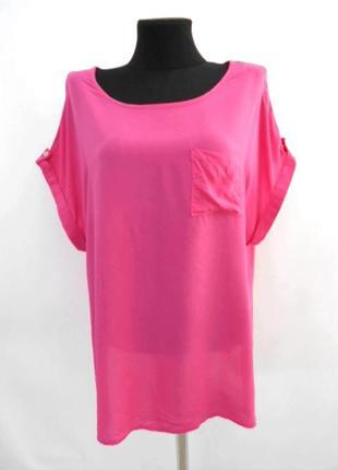 Блуза розовая f&f