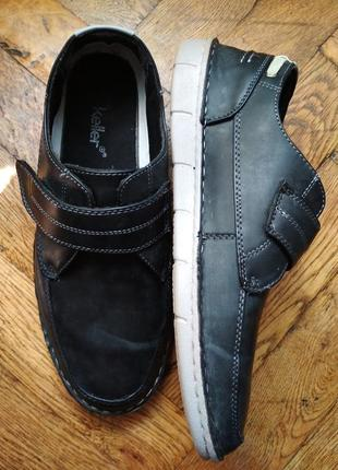 Ціну знижено! туфли, слипоны, мокасины keller, ортопедические ботинки1 фото