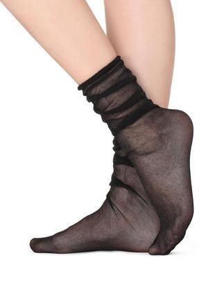 Воздушные носки с глиттером calzedonia