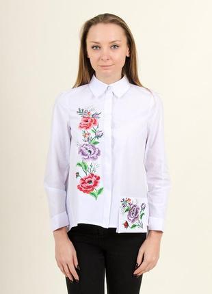 Модная вышиванка для девушек с отменным вкусом