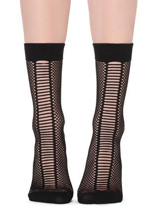 Итальянские носки в сетку calzedonia