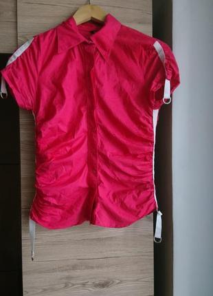 Яркая розовая рубашка bgn s 1+1=3