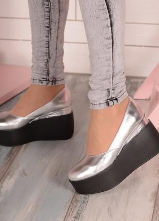 Туфли натуральная кожа замш