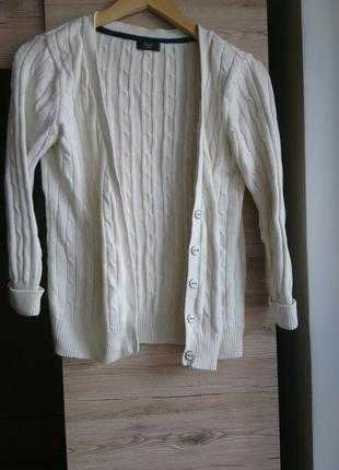 Белая кофта f&f m 1+1=3