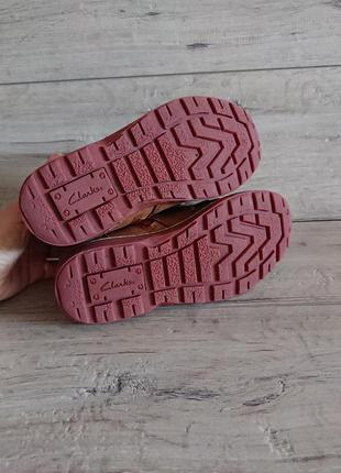 Ботинки деми кларкс clarks 32 р 21 см6 фото