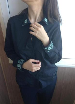 Рубашка вышиванка ручная работа минимализм