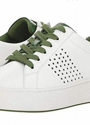 Michael kors кроссовки белые кожаные оргинал сша 38 р.