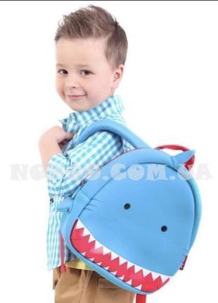 Детский неопреновый рюкзак акула nohho