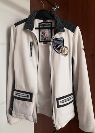 Пиджак жакет спортивный с нашивками sportalm оригинал