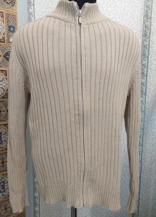 Толстовка. свитер на молнии
