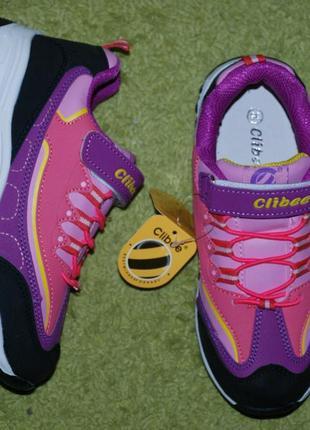 Кроссовки на девочку бренда clibee( румыния)/ размер 35/2 фото