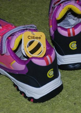Кроссовки на девочку бренда clibee( румыния)/ размер 35/3 фото