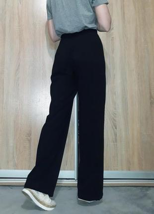 Брендовые свободные,широкие брюки палаццо  на высокой посадке ровного кроя max mara5 фото