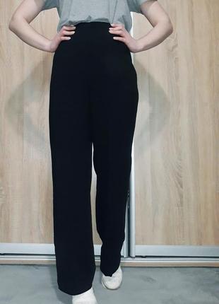 Брендовые свободные,широкие брюки палаццо  на высокой посадке ровного кроя max mara6 фото