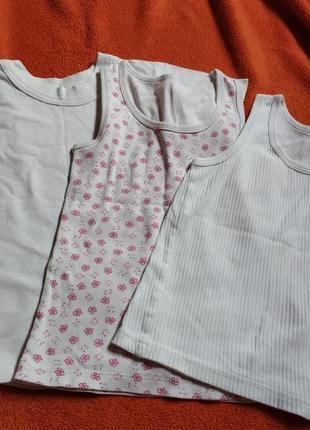 Набор футболка майки 4 года